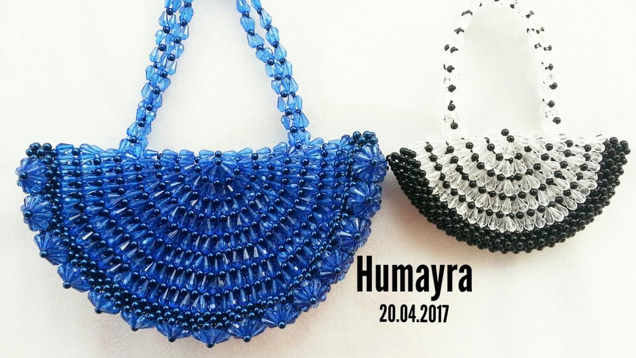 How to make beaded purse/পুতির ব্যাগ ...
