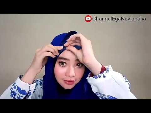 Tutorial Hijab 2 By Ega Noviantika Youtube