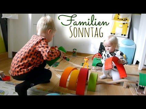 Familienvlog | Ein gemütlicher Sonntag | Backen, Kochen, Nähen | Vlogtober #18