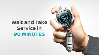 Nissan Express Service - 90 Minutes