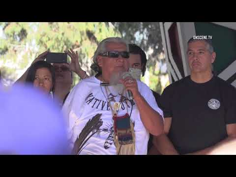 San Diego: Chicano Park Protest Turns Ugly 02032018