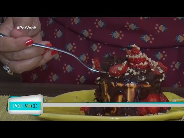 Por Você - Receita Saudável: bolinho de chocolate low carb 09/03/19