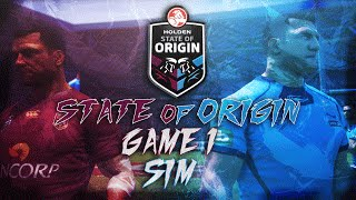 2016 State of Origin Game 1 Sim | Rugby League Live 3