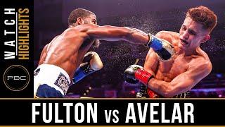 Fulton vs Avelar HIGHLIGHTS: August 24, 2019 — PBC on FS1