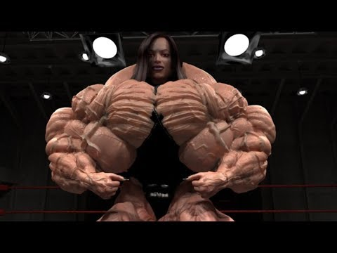 Top 4 Biggest Female Bodybuilders 2018
