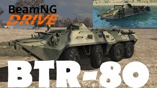 BeamNG.drive | BTR-80 | An amphibious Armored Vehicle Presentation