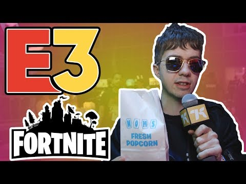 We Ate Lots Of Snacks At Fortnite's E3 2019 Booth