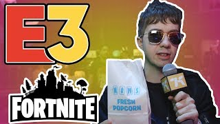 Fortnite Stuffed Us With Popcorn And Slurp Juice | E3 2019