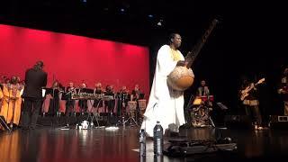 "N'Faly Kouyaté & Kora Strings. Tracks ""Djigui""- Hommage à Mamady Keita Djembefola"