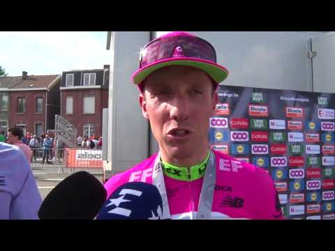 Michael Woods - post-race interview - Liège-Bastogne-Liège 2018