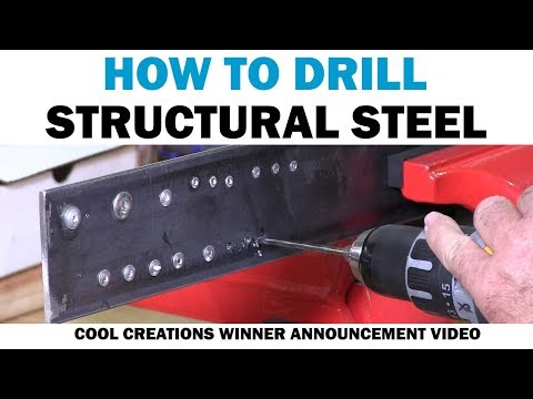 Drilling Through Structural Steel With New & Old Drill Bits | Fasteners 101