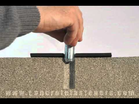 Drop In Anchor For Fastening Dock Bumper To Concrete Youtube