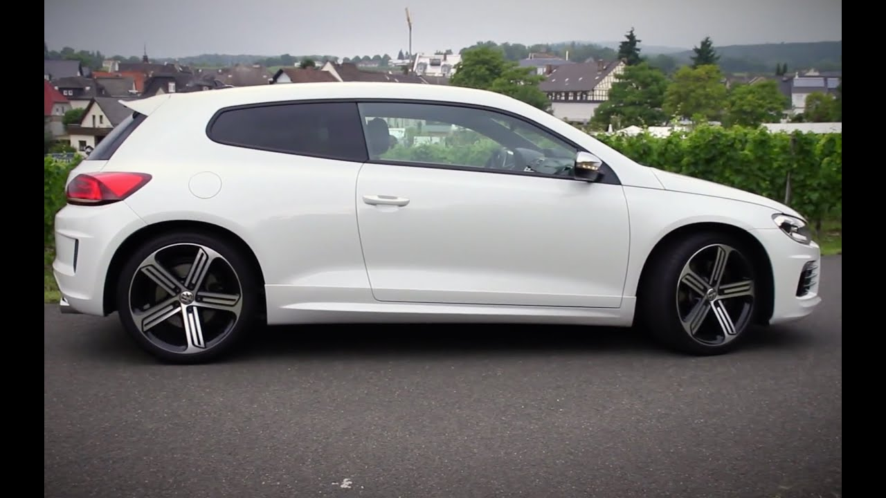 volkswagen vw scirocco r test 2014 280ps ilovecars youtube. Black Bedroom Furniture Sets. Home Design Ideas