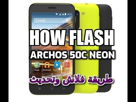Firmware Archos 50c Neon طريقة فلاش وتحديث هاتف