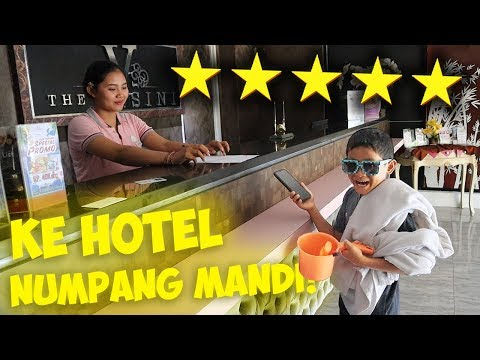 PARAH!!! AIR DIRUMAH MATI TANPA RAGU BOCIL LANGSUNG PESAN HOTEL ⭐️⭐️⭐️⭐️⭐️