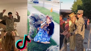Military Coming Home Tiktok Compilation| Most Emotional Compilations  # 2