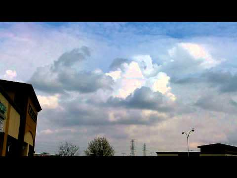Isolated thunderstorms around march 3, 2013