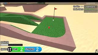 Roblox mini golf! Part2