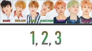 [Colour Coded Lyrics] NCT DREAM - 1, 2, 3 (Han/Rom/Eng)