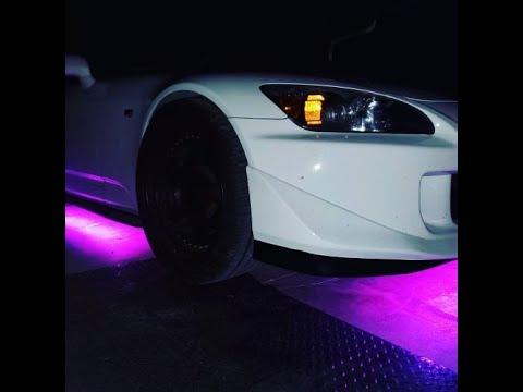 S2000 gets Underglow (Car wash Cinematic)
