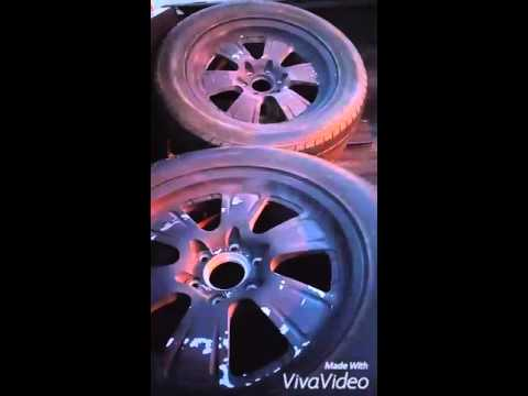 stripping spray painted wheels youtube. Black Bedroom Furniture Sets. Home Design Ideas
