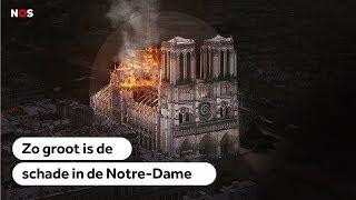 PARIJS: Zo greep het vuur om zich heen in de Notre-Dame