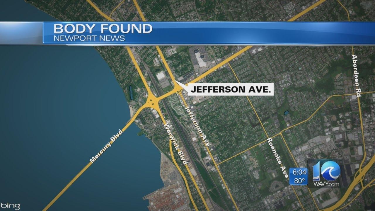 Police: Body found behind Newport News hotel