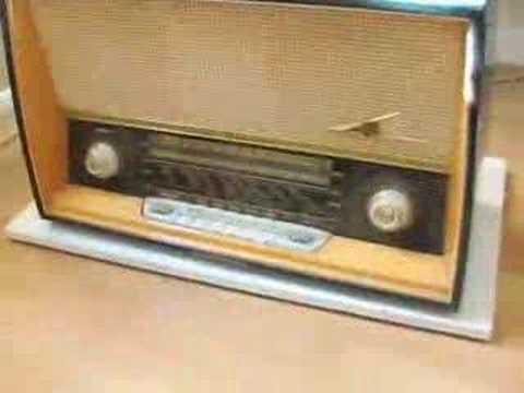 German Tube Radio circa 1960 in great working order