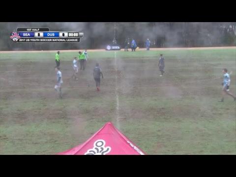 2017 National League - 18U Boys - Field 1- 2pm - Day 3 - Seattle United  vs. Davie United Sharks
