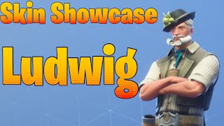 Fortnite Showcase da pele: Ludwig