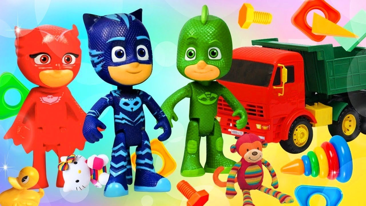 PJ Masks toys & a new Superhero Mission - New PJ Masks episodes.