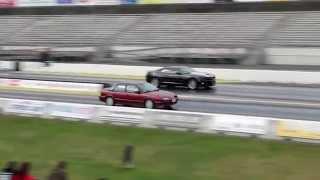 Turbo Saturn SL2 Drag Race - 11.937 @ 119.14 MPH