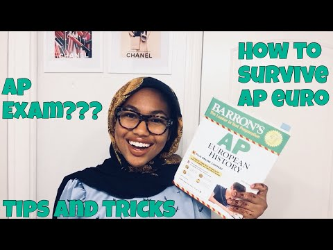 HOW TO SURVIVE AP EUROPEAN HISTORY- TIPS, TRICKS, ADVICE, MY EXPERIENCE