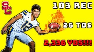 He's The Top Receiver In High School... And You've Never Heard Of Him!!!