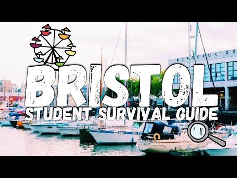 BRISTOL, AN INTRODUCTION.| BRISTOL STUDENT SURVIVAL GUIDE (ep.1)