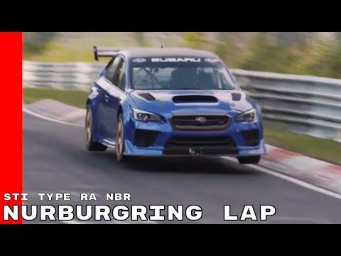 Onboard Footage Of Subaru WRX STI Type RA NBR Nurburgring Lap