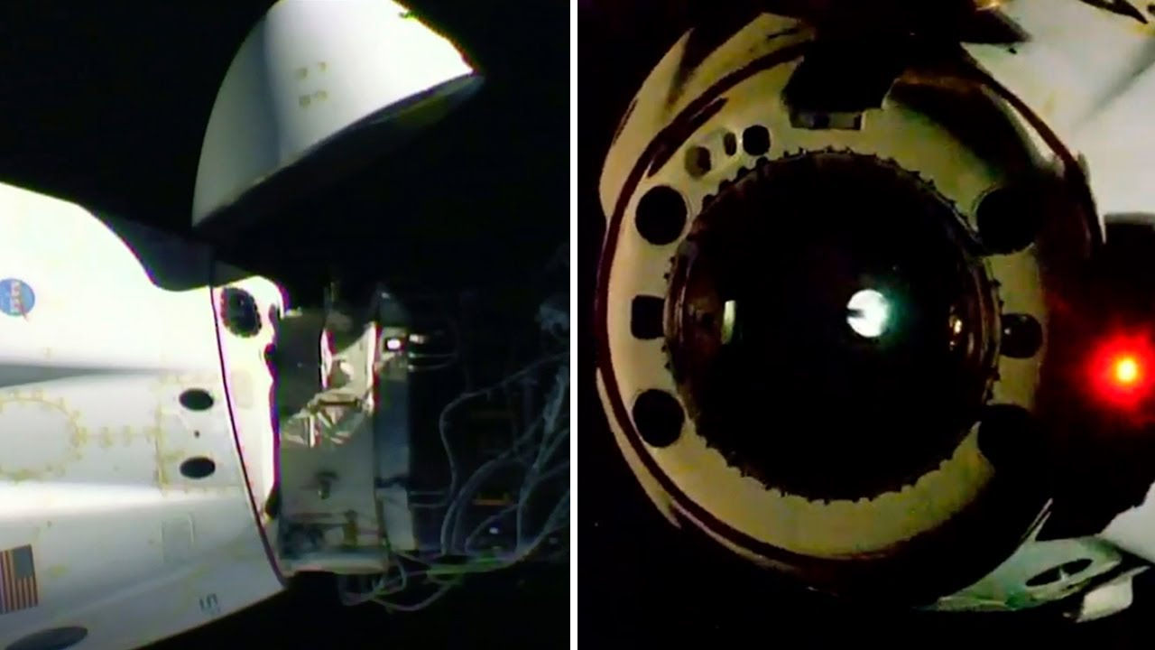 Nasa astronauts leave ISS aboard SpaceX capsule ahead of splashdown - The Telegraph
