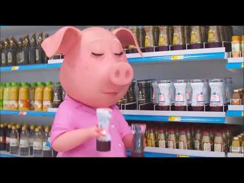 HD SING Supermarket Scene   Rosita   YouTube 1080p