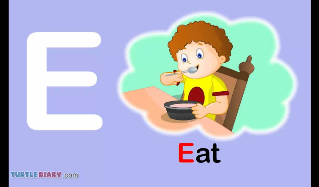 Toddler Words | Words Starting With E   YouTube
