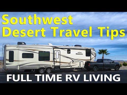 Southwest Desert RV Travel Tips | Arizona Sonoran Desert