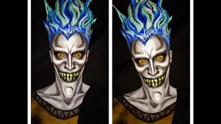 Hades makeup tutorial and lip sync