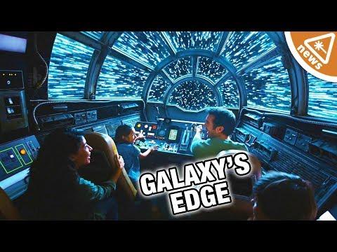 First Look at Star Wars: Galaxy's Edge! (Nerdist News w/ Jessica Chobot)