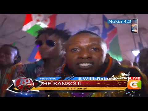 "10 OVER 10 | Kaonsoul perfom their famous ""Chini kwa chini"""