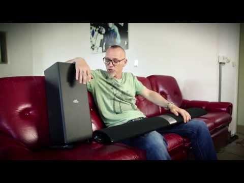 Thomas D erklärt die Philips Fidelio B5 SoundBar mit Surround on Demand #Soundin4D