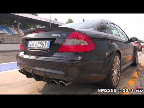 Mercedes CLK63 AMG Black Series Start Up and Rev