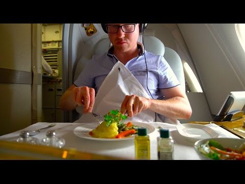 Thumbnail: Brand New Emirates A380 FIRST Class Review - Christchurch to Sydney (A6-EUK)