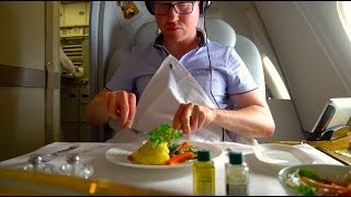 Brand New Emirates A380 FIRST Class Review - Christchurch to Sydney (A6-EUK)