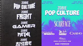 Opening the June 2021 ZOBIE Pop Culture Mystery Box + Mafia Theme
