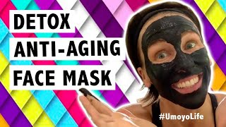 Detox Anti-Aging Face Mask (Activated Charcoal) - #UmoyoLife 014