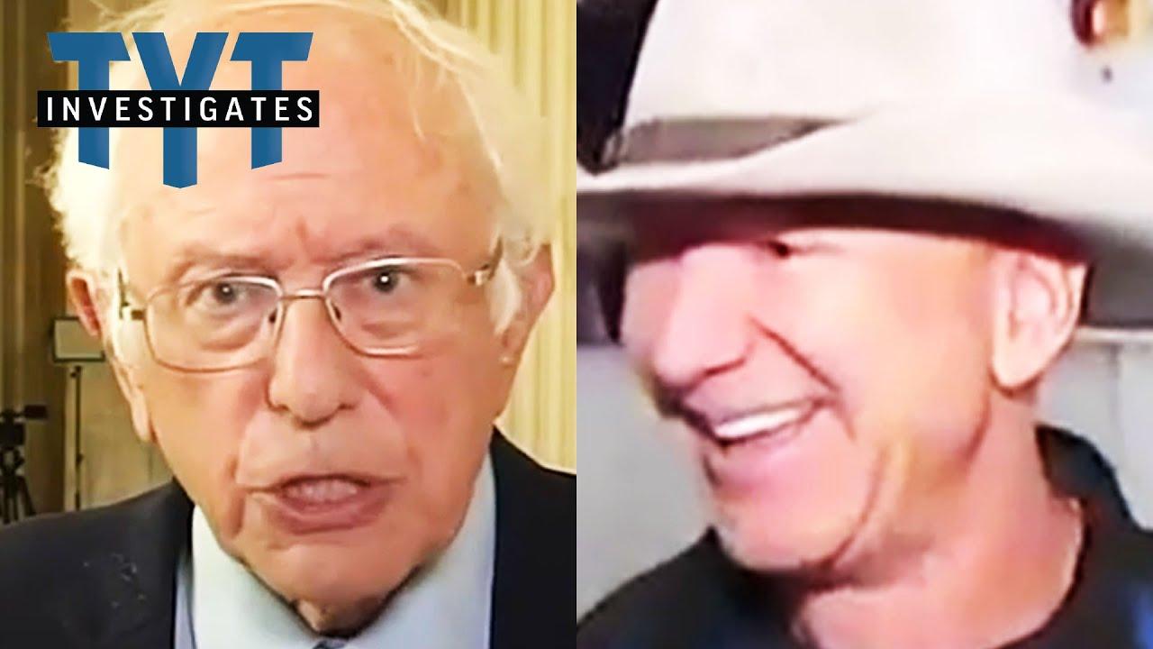 Bernie TAKES AIM At Bezos